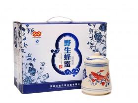 野蜂蜜礼盒750g*2,郑州年货好礼蜂蜜团购批发