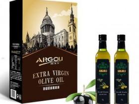 西班牙特级初榨橄榄油500*2礼盒装 阿戈力年货福利食用油