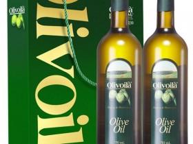 欧丽薇兰特级初榨橄榄油礼盒750ml*2瓶 郑州年货团购福利