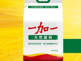一加一天然面粉5KG,郑州一加一面粉总代理