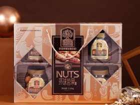 臻味环球铭果坚果礼盒零食大礼包1.32kg榛子每日坚果郑州年货干果礼盒春节团购
