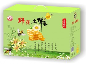 野花土蜂蜜750g*2罐礼盒装,郑州土蜂蜜厂家总代理